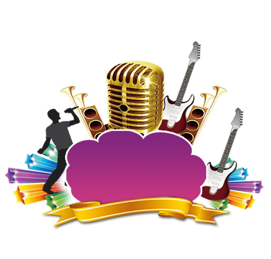 Microphone clipart music note. Musical instrument transprent png
