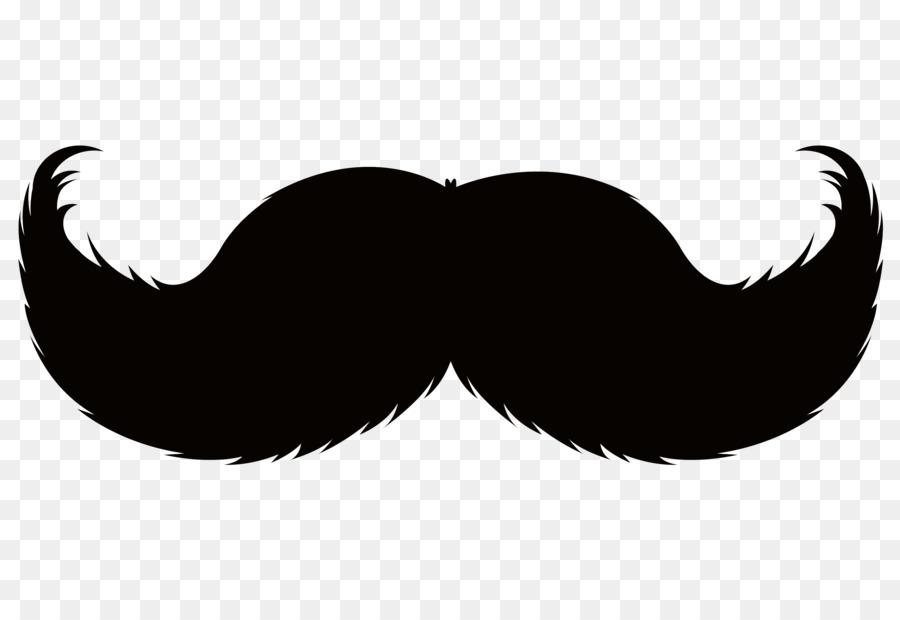 Clipart mustache. Handlebar moustache pencil beard