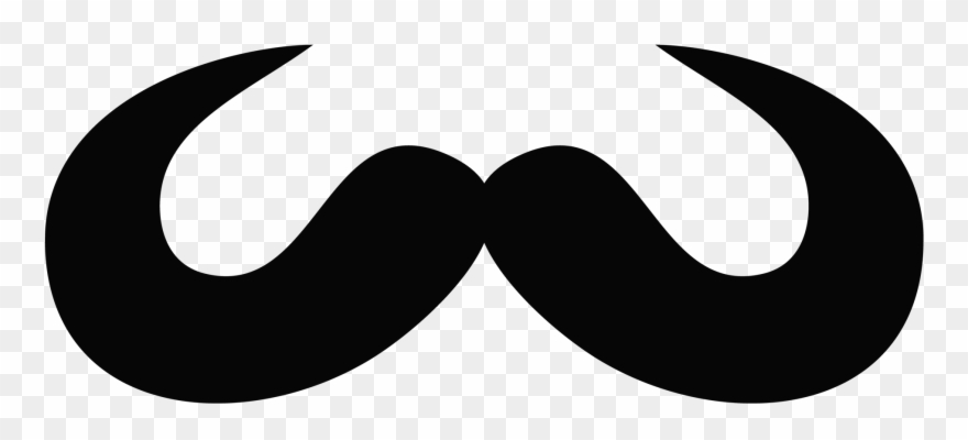 Clipart mustache black thing. Men moustache png transparent