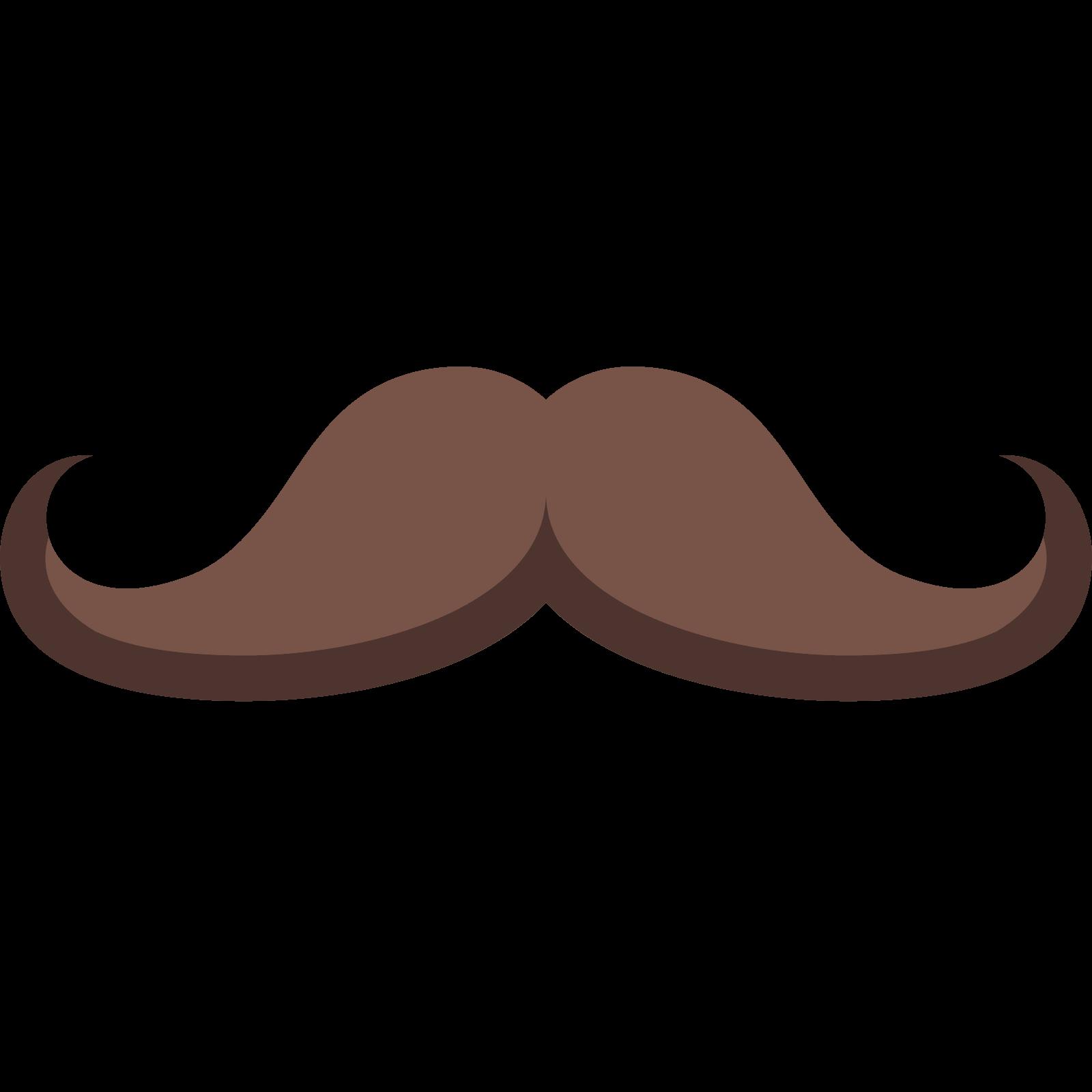 Bigote ingl s png. Clipart mustache colored