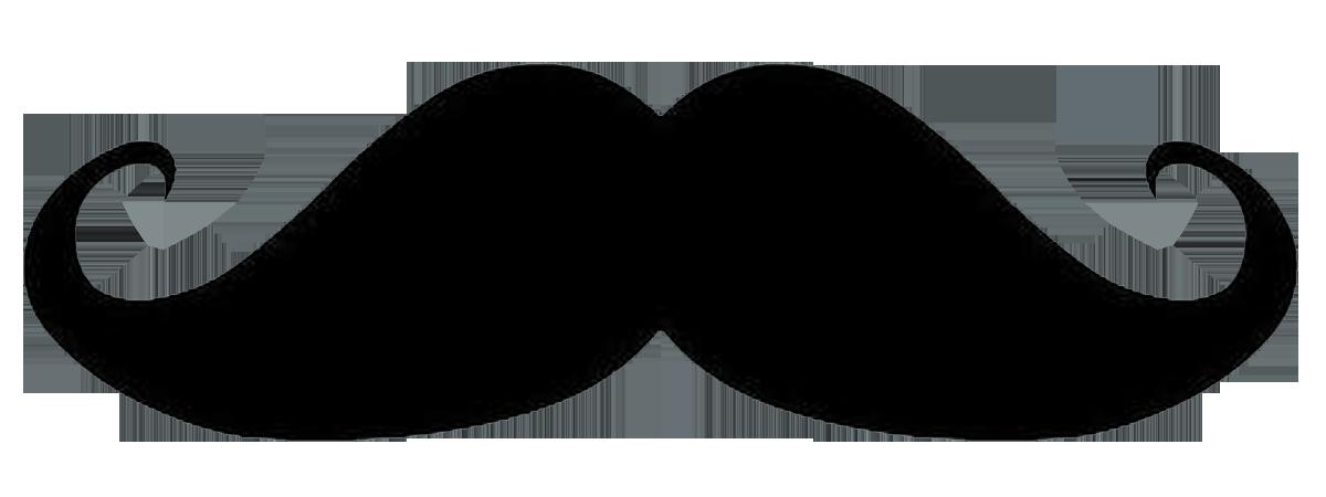 Moustache clipart transparent background. Handlebar cartoon clip art