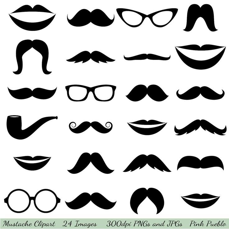 Clip art glasses lips. Clipart mustache eyeglasses frame