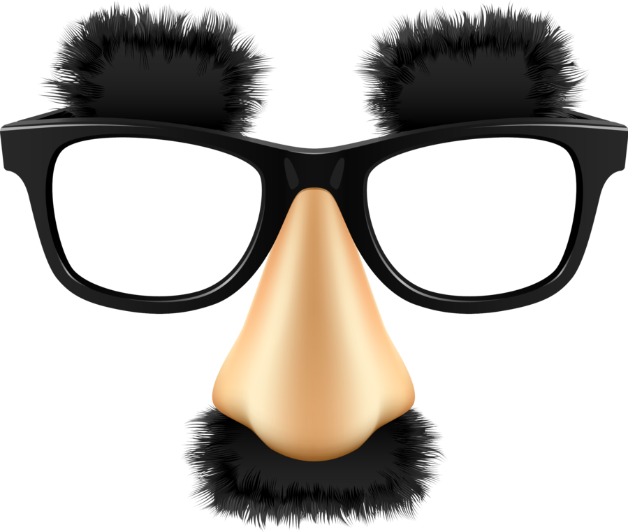 Glasses grouchomarx funny eyebrows. Nose clipart mustache