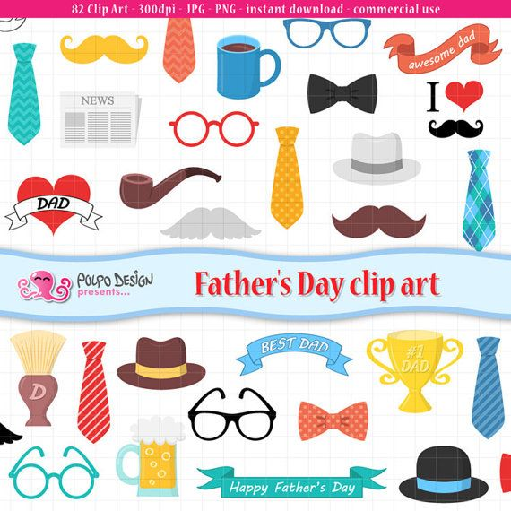 Father s clip art. Clipart mustache fathers day