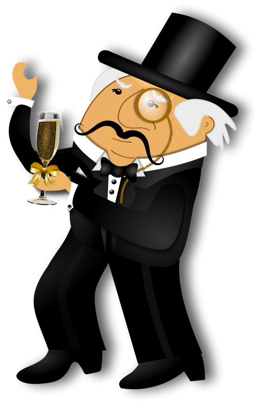 Clipart mustache gentleman hat. Free distinguished dancing objects