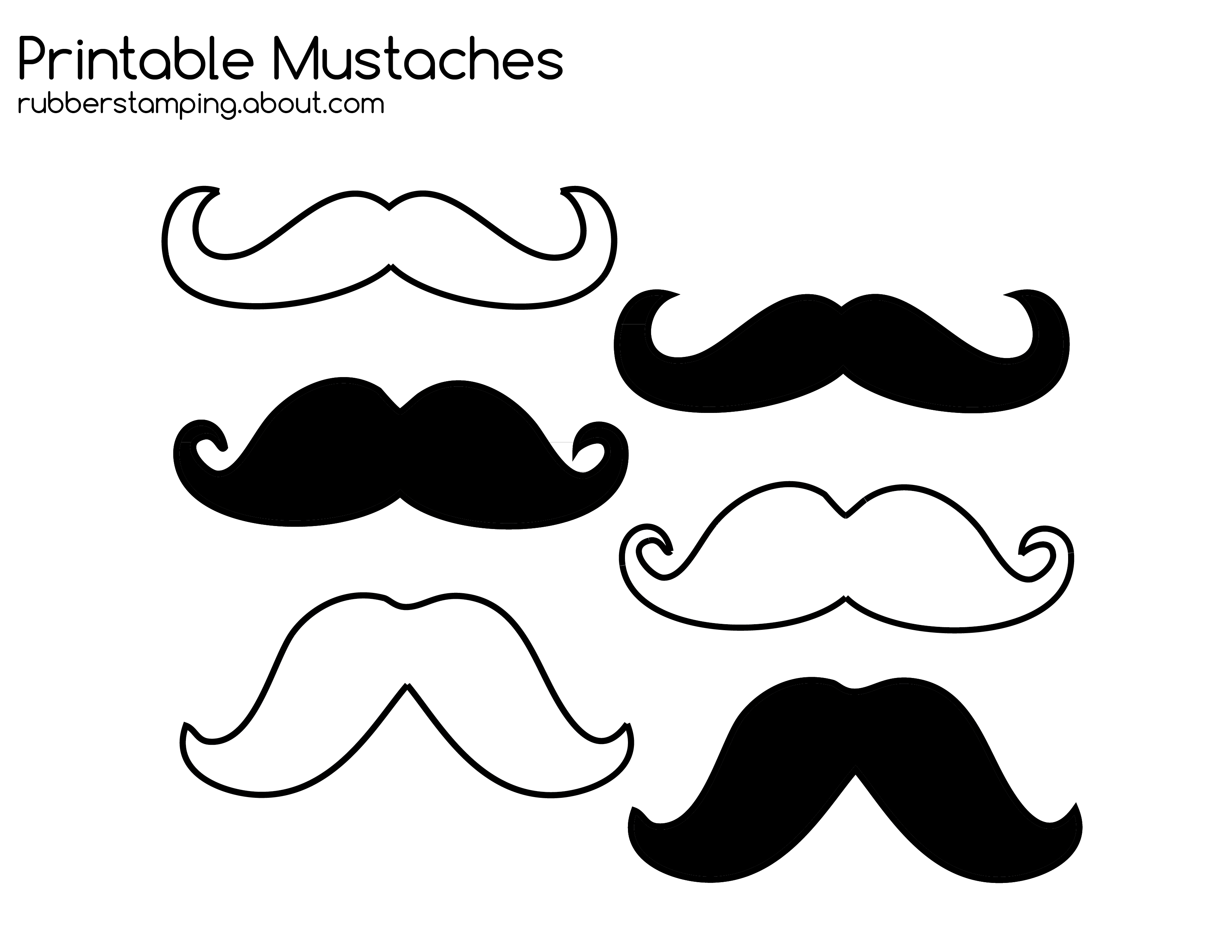 Moustache clipart handlebar mustache. Drawing at getdrawings com