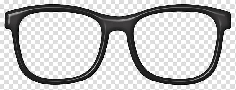 Sunglasses clipart glass frame. Black framed eyeglasses art