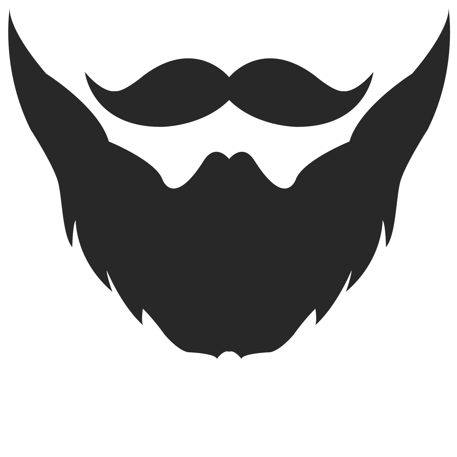 Beard clipart template. Logo google search pinterest