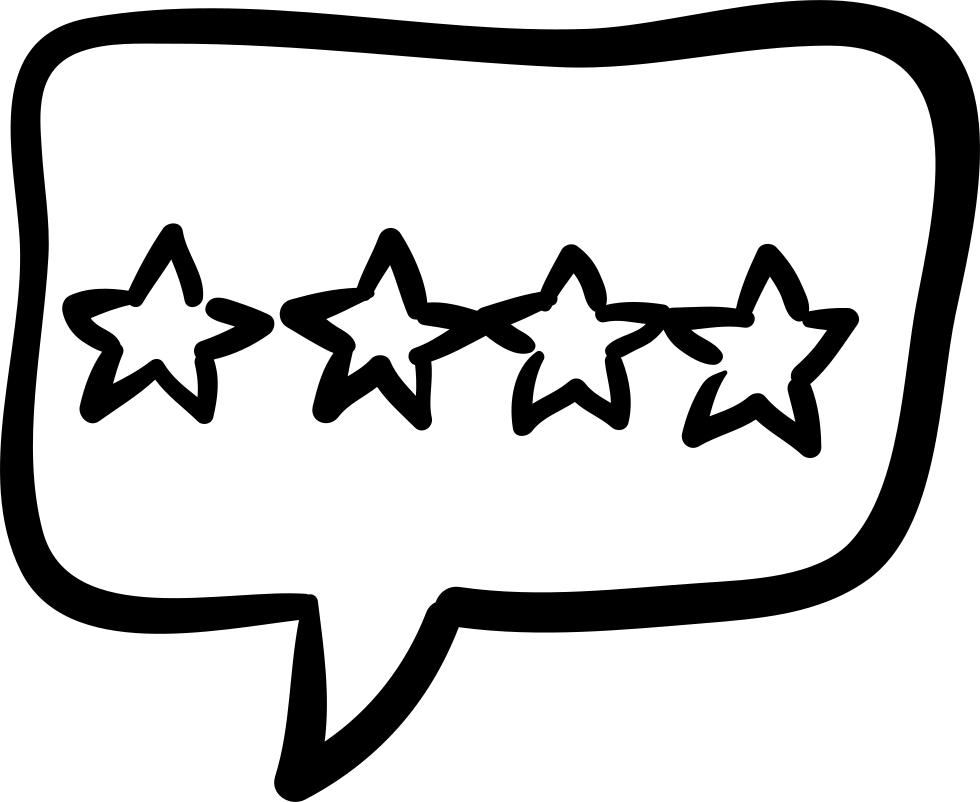 Hotel four stars signal. Clipart mustache hand drawn