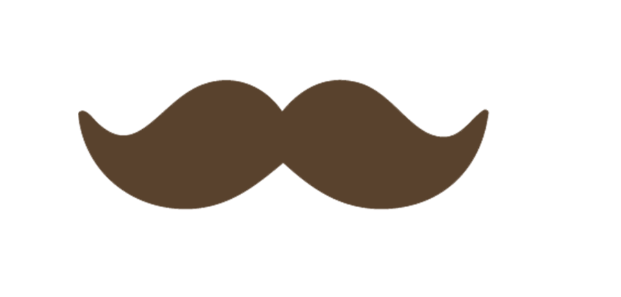 Moustache clipart brown. By iamacrazyboyeditions on deviantart