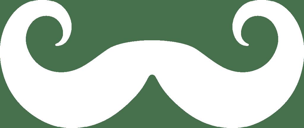 Moustache clipart handlebar mustache. Silhouette by paperlightbox on