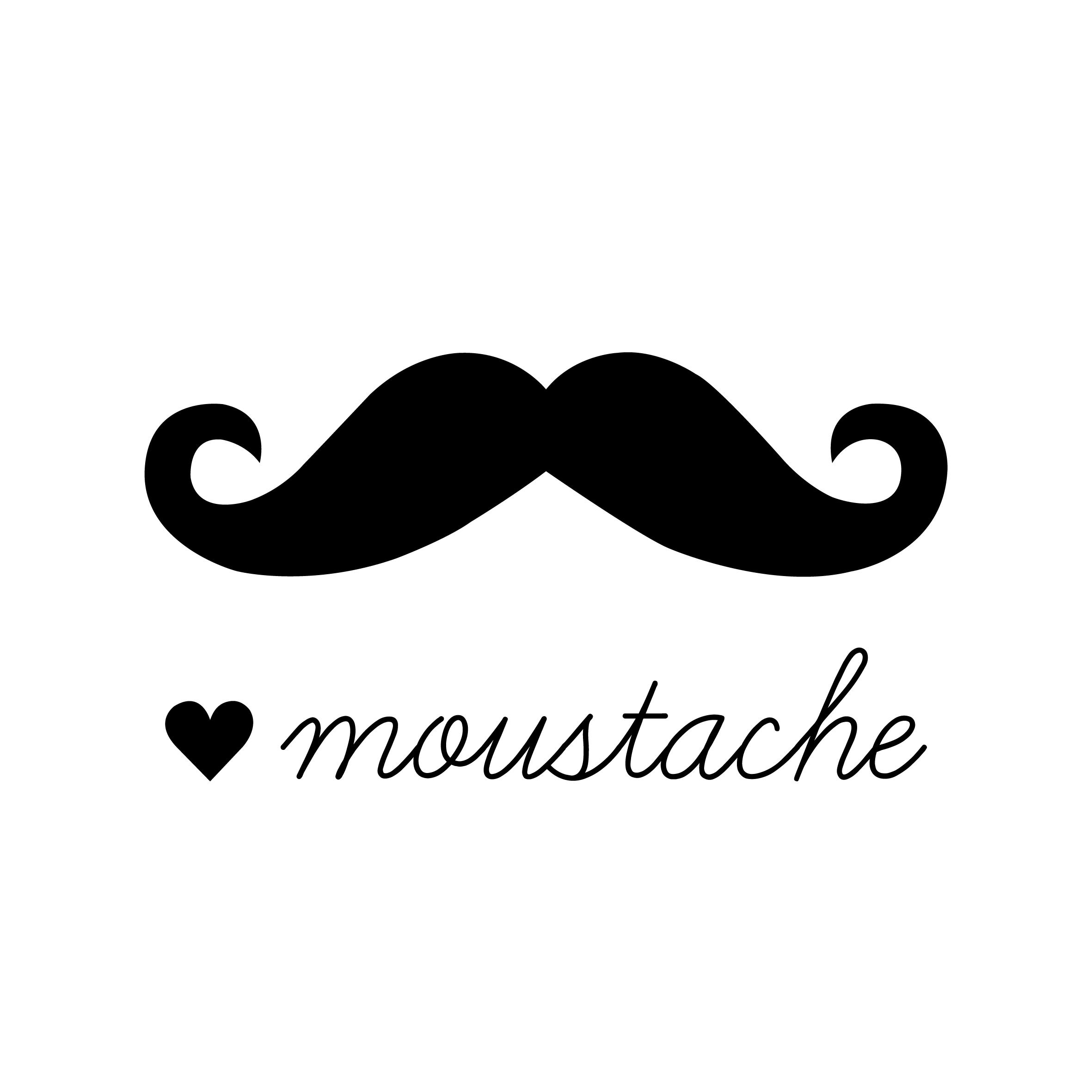 Beard clipartix . Clipart mustache handlebar mustache