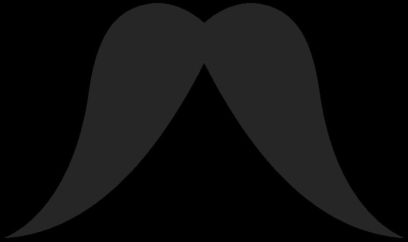 Clipart mustache horseshoe. Clip art ourclipart pin