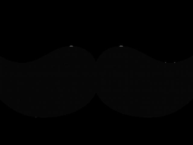 Moustache clipart outline. Mustache vector png free