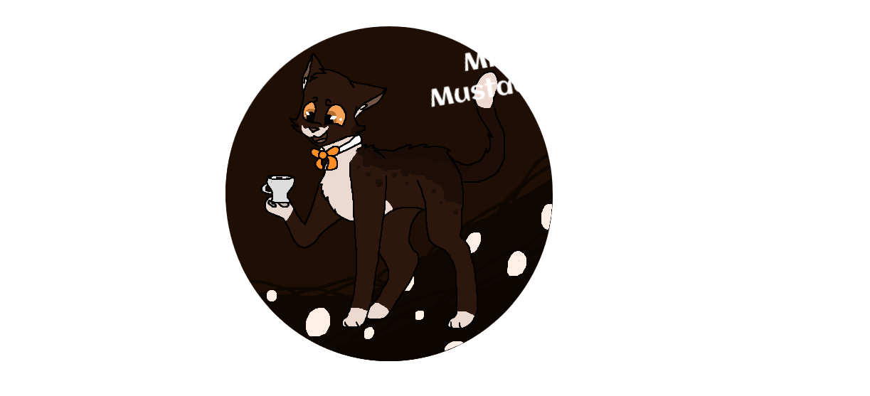 Clipart mustache milk mustache. Autumn cat adopt by