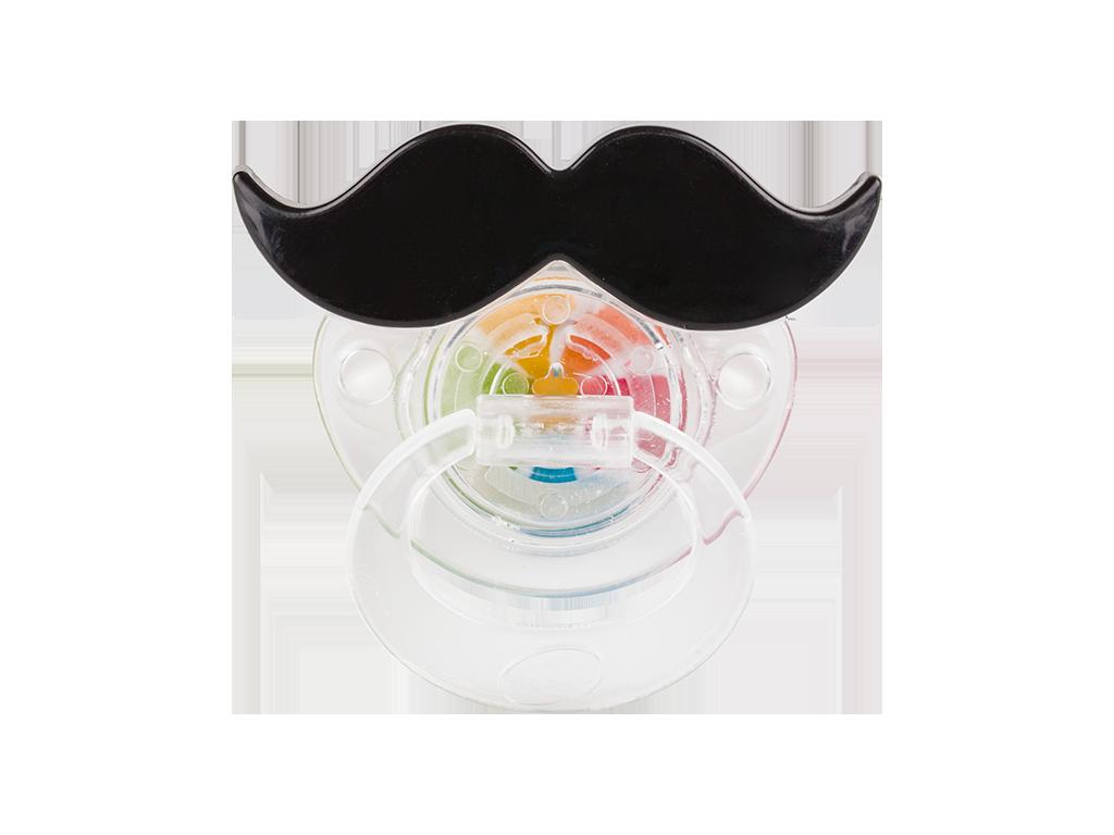 Mustacho the candy toy. Moustache clipart shape
