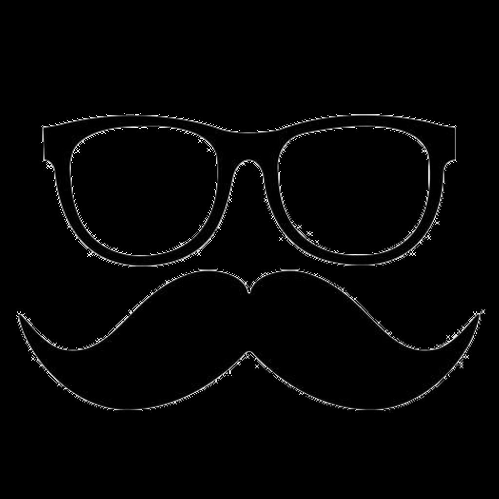 Moustache clipart nerd glass. Sticker by tan