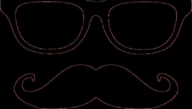 Mustache clipart nerd glass. Hd moustache nerdy and
