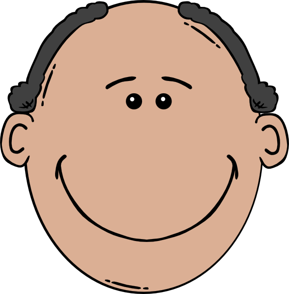 Excited clipart happy man. Face world label clip