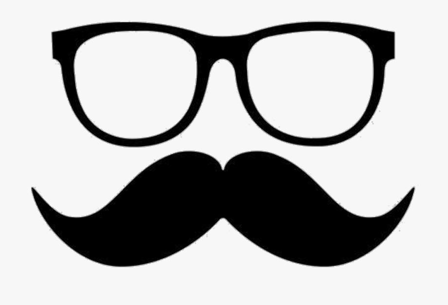Nerd png cliparts . Mustache clipart glass frame