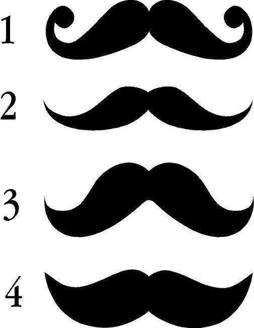 Clipart mustache painted. Helldorado ideas face painting