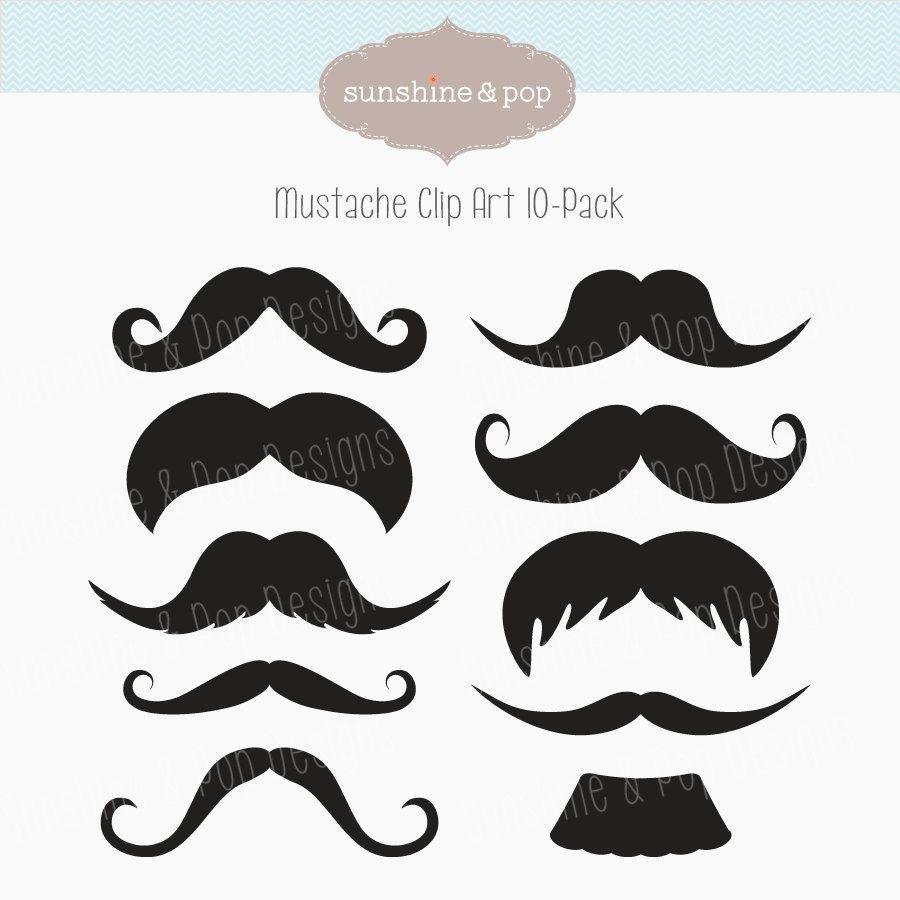 Moustache clipart diy. Free mustache party printables