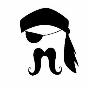 Gifts accessories zazzle co. Clipart mustache pirate