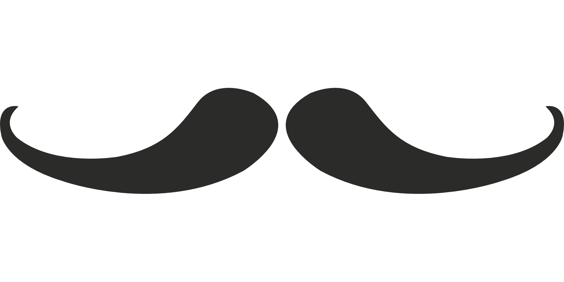 Grey moustaches template free. Moustache clipart mustache italian