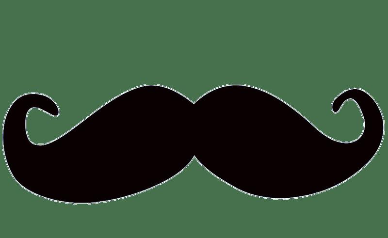 moustache clipart party