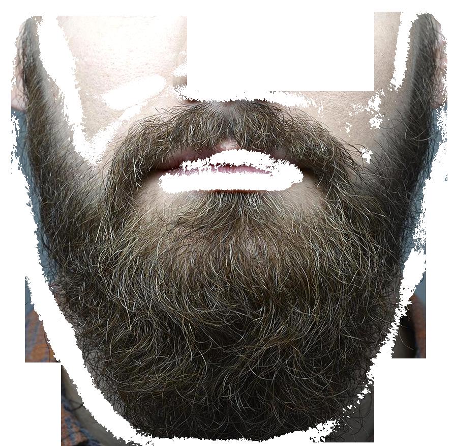 Transparent png beard black. Clipart mustache realistic