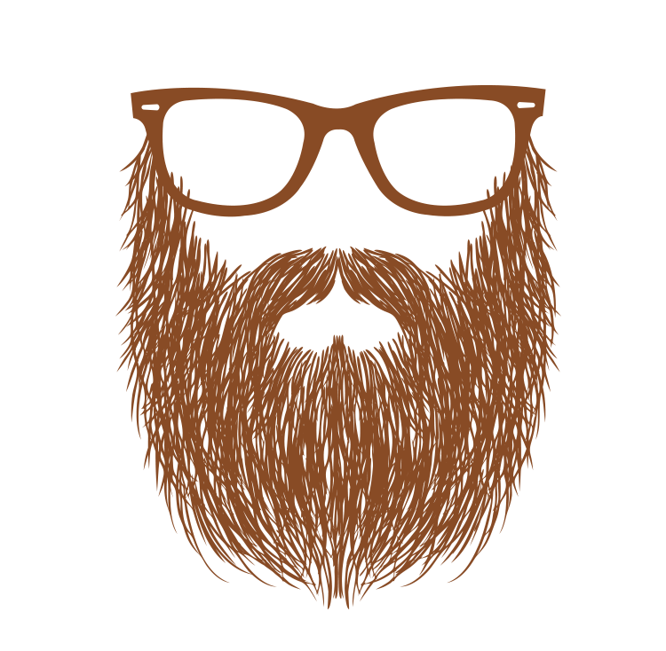 Beard png images free. Clipart mustache red