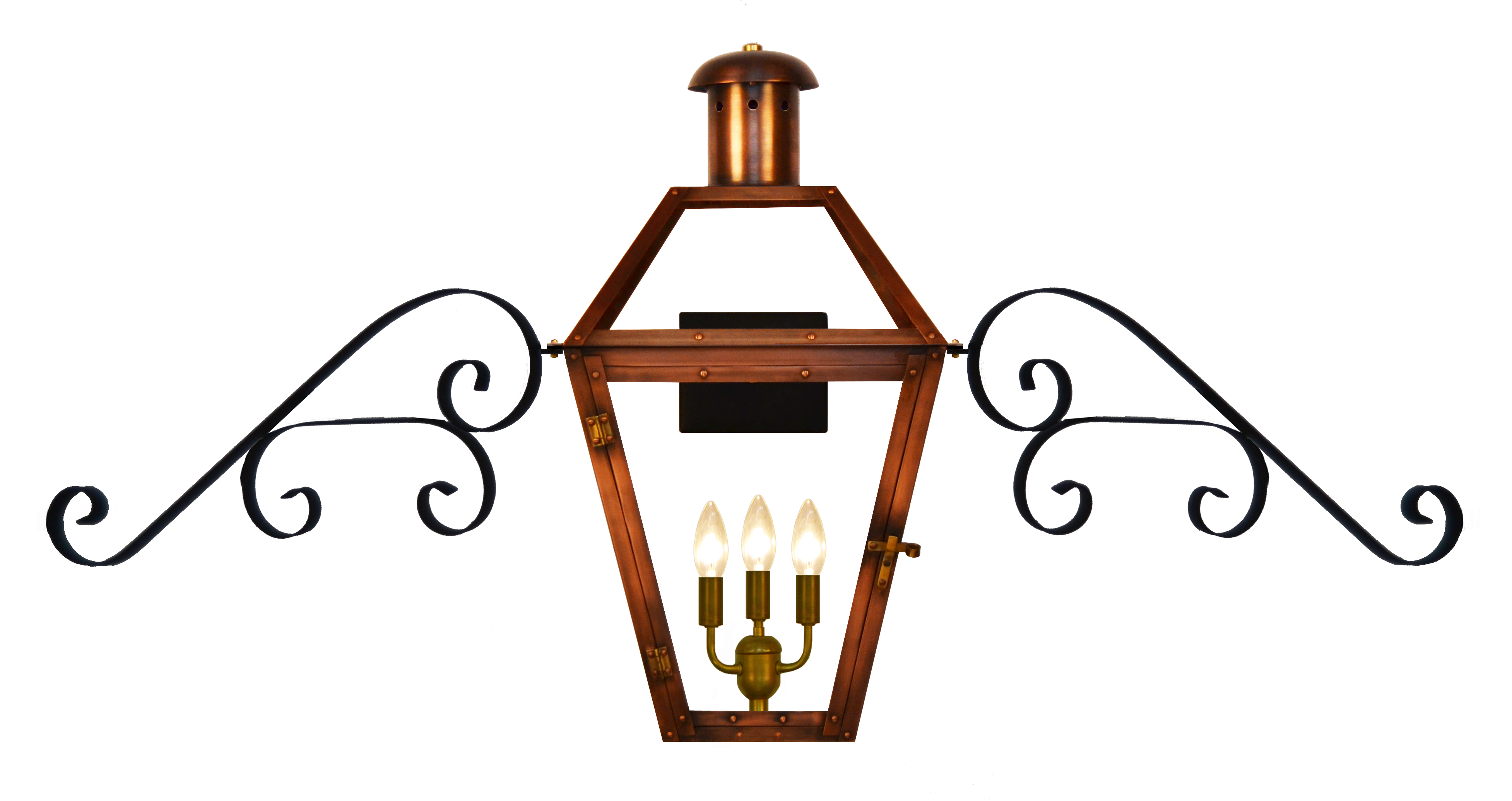 Georgetown gas or electric. Torch clipart lanterns