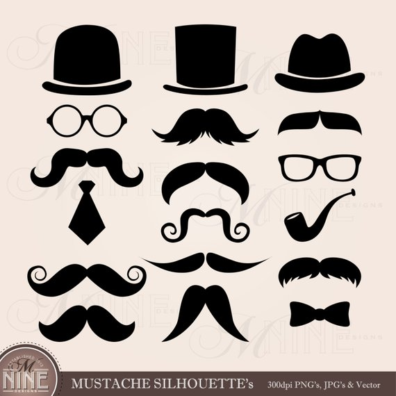 Mustache clipart spectacles frame. Clip art mustaches download