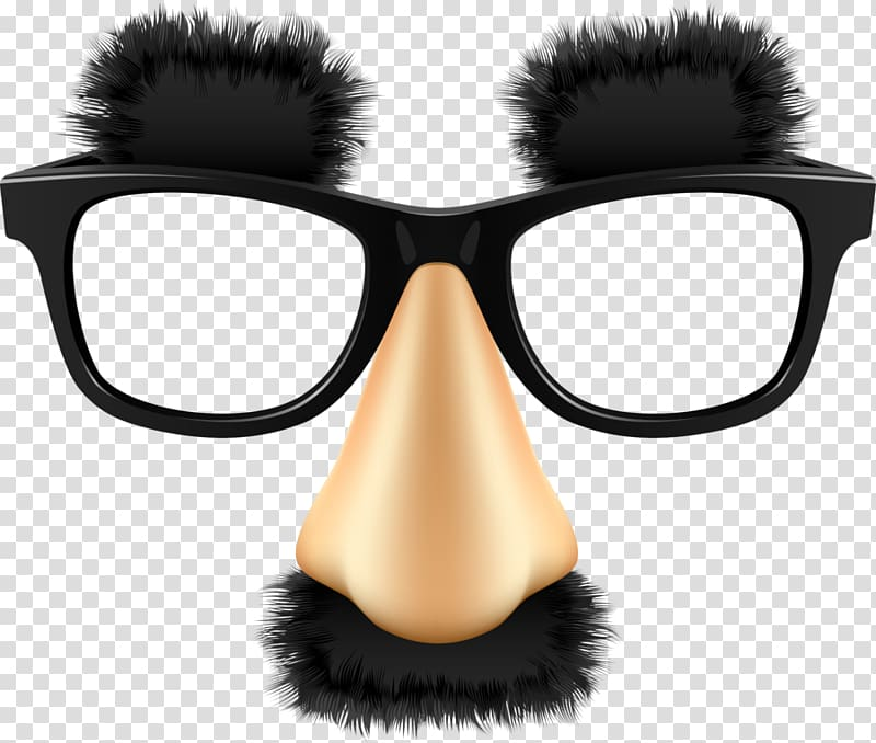 Black and brown eyeglasses. Moustache clipart spectacle frame