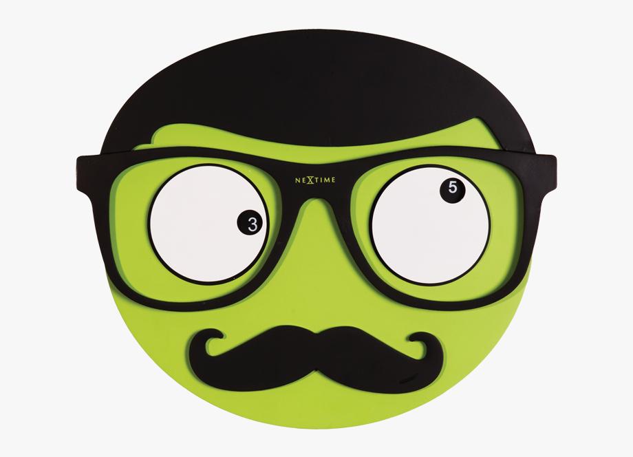 Mustache cliparts . Moustache clipart square glass
