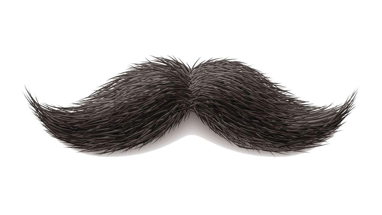 Cool clipart mustache.  real png places