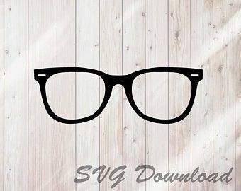 Moustache clipart spectacles frame. Eyeglasses clip art etsy