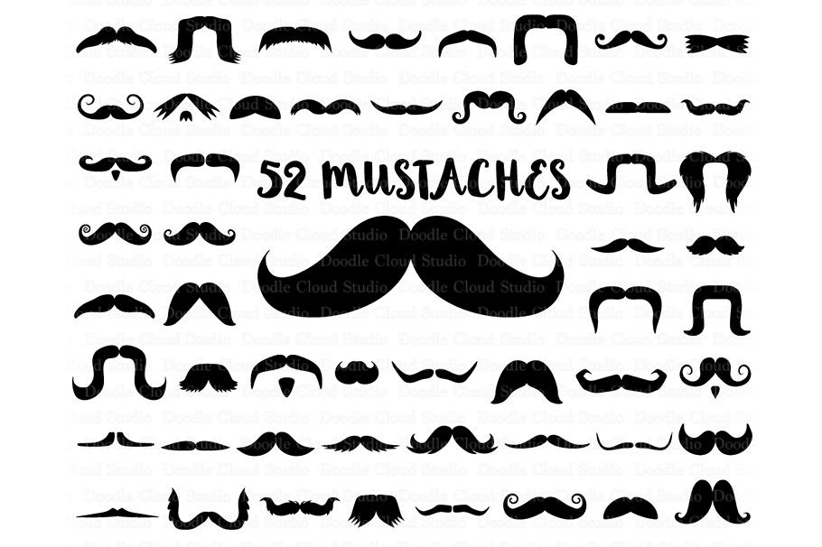 Moustache clipart svg. Mustaches files mustache