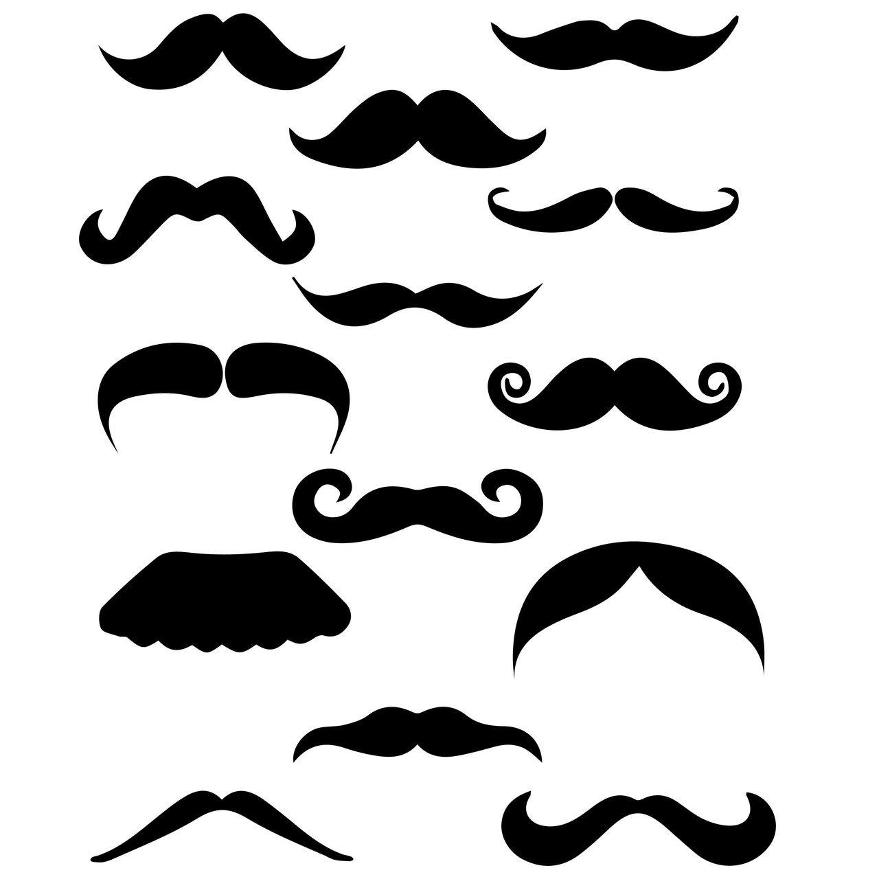 Free cut file craftables. Moustache clipart svg