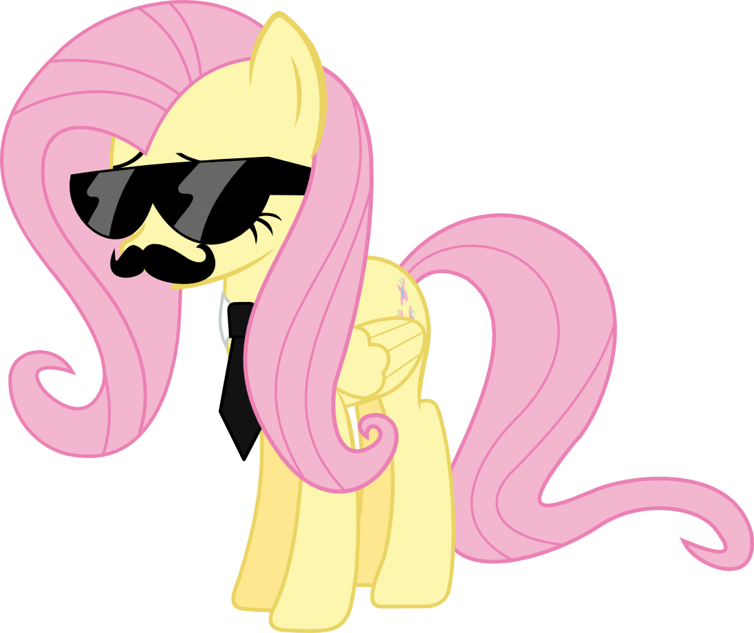 Image my little pony. Mustache clipart swag