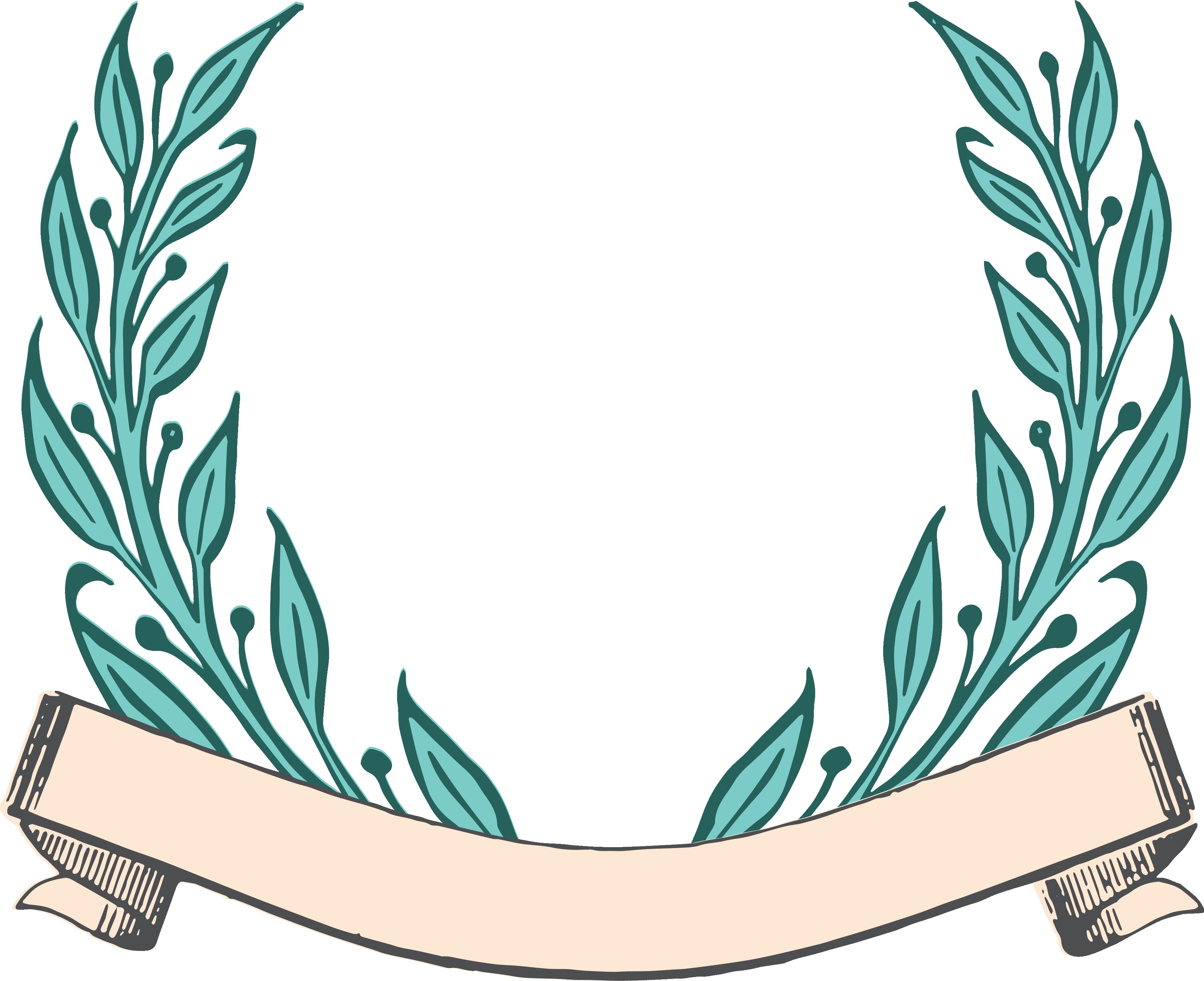 Free laurel wreath download. Clipart mustache vector