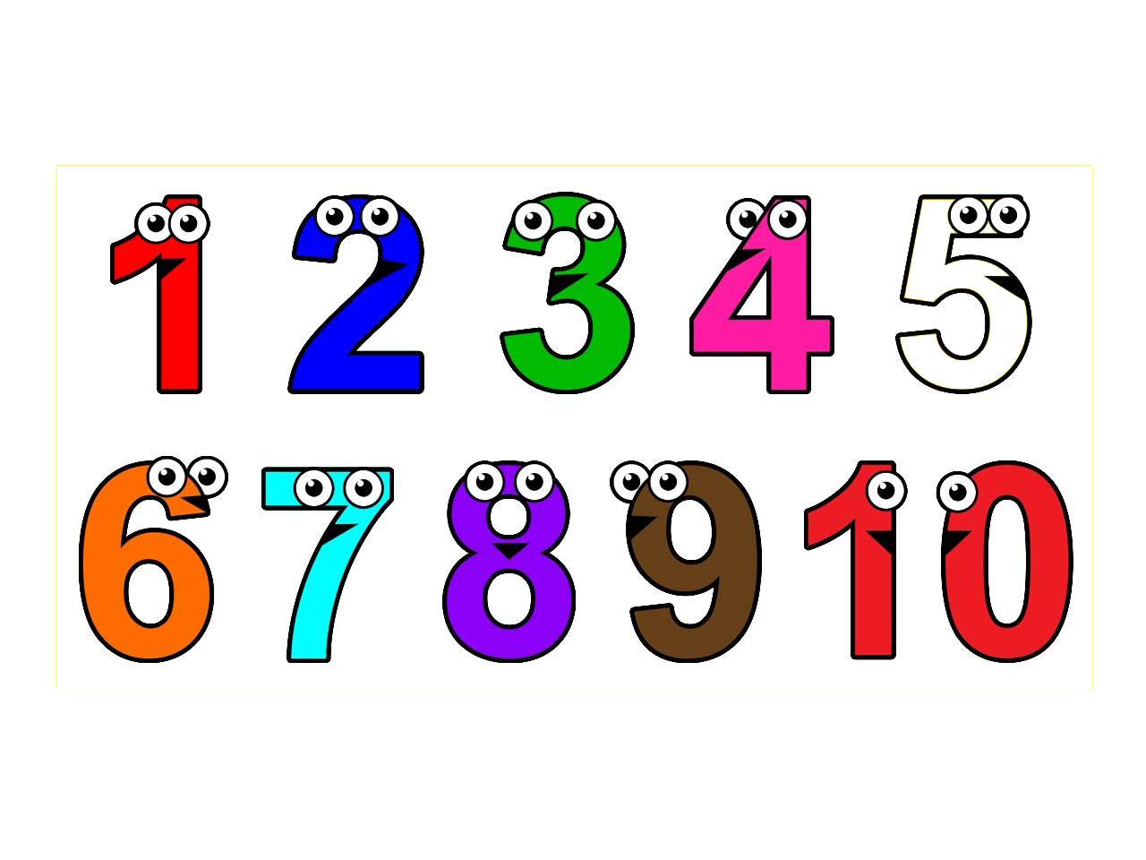 Number 1 clipart two.  to numbers png