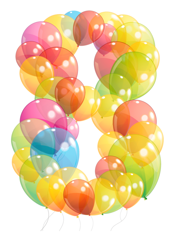 Pinterest lettering art and. Clipart numbers balloon