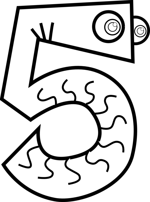 Numbers clipart black and white. Free images hd gallery