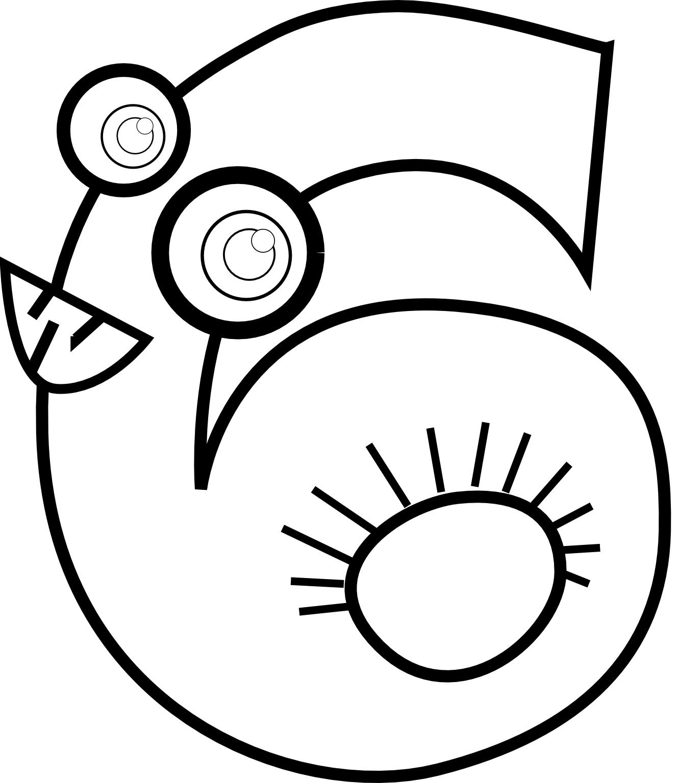collection of number. Numbers clipart black and white