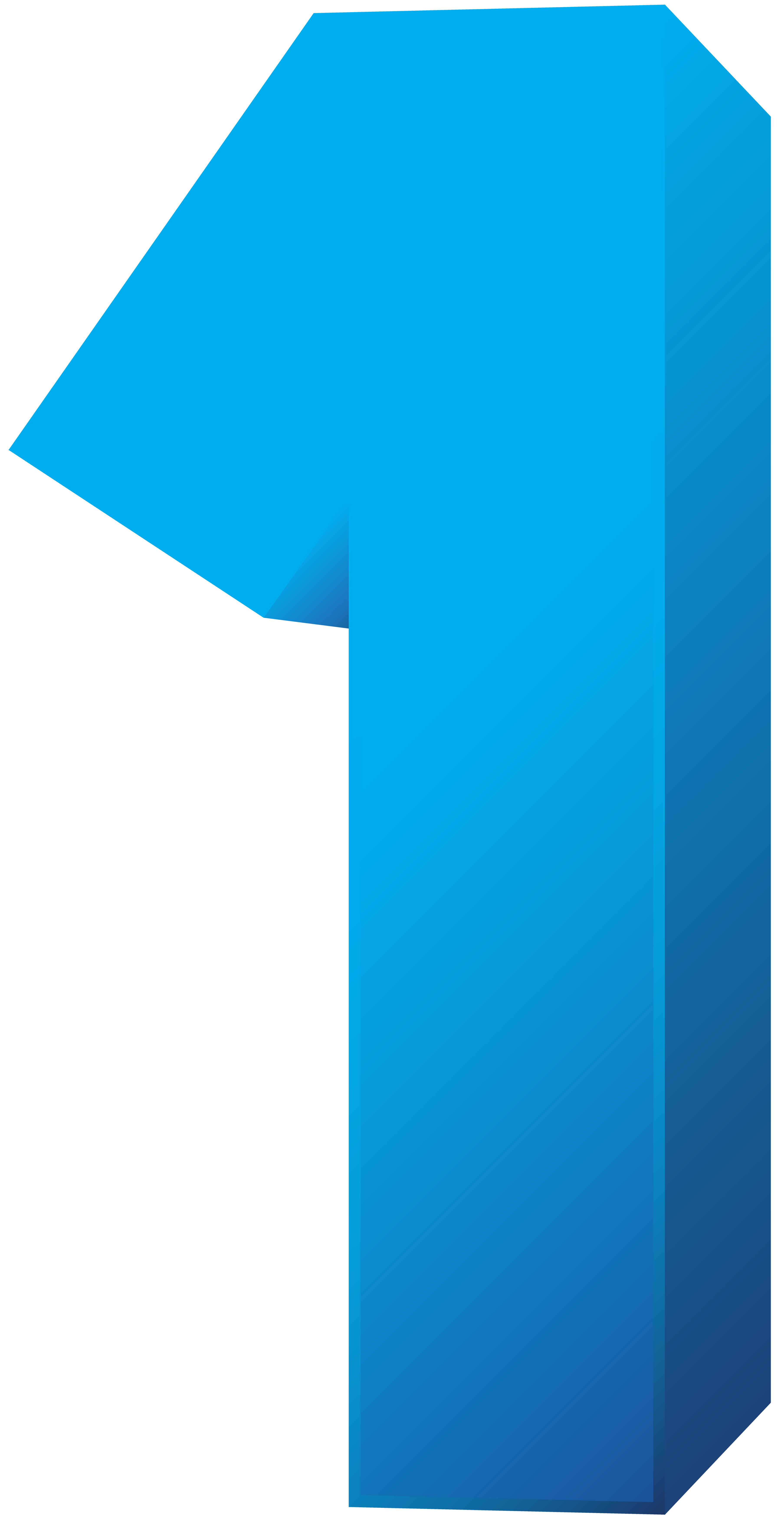 Clipart numbers blue. Number one transparent png