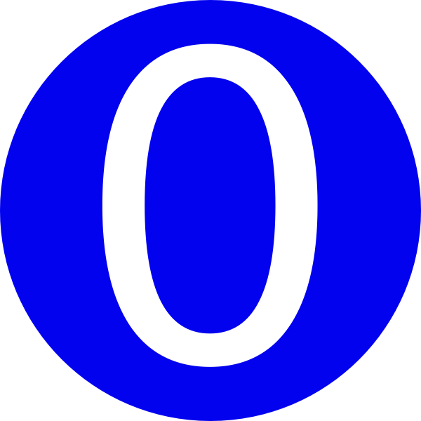Number 6 clipart grade. Blue rounded with clip