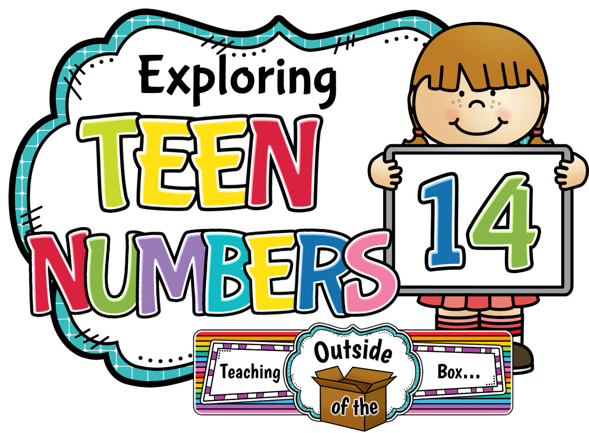 Teaching outside of the. Clipart teacher number