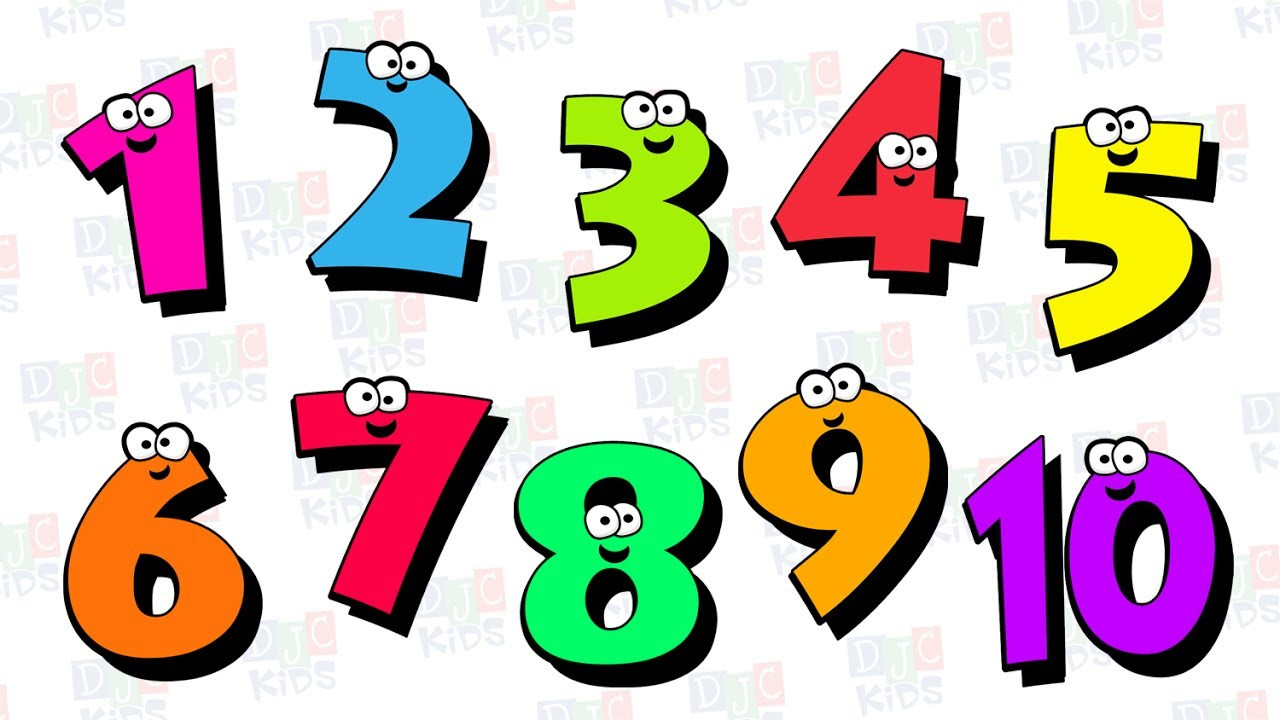 Clipart numbers counting. Dazzling excellent free clip