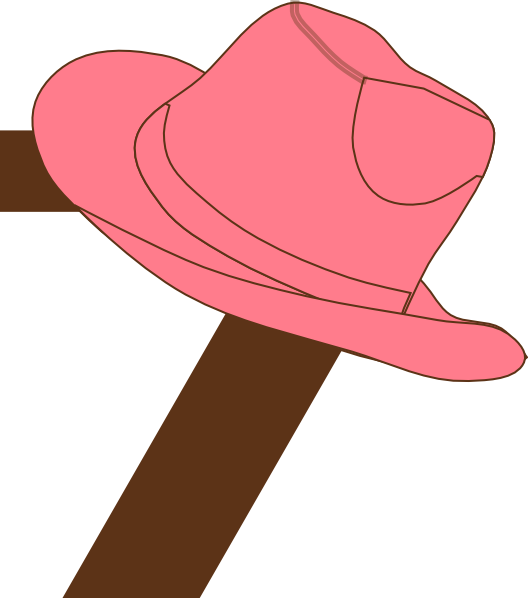 Clipart numbers cowboy.  cowgirl hat clip
